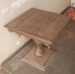 Título do anúncio: Mesa retrô de canto usada