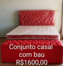 Título do anúncio: Cama camas colchao cabeceiras cama baú camas colchão