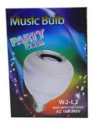 Título do anúncio: Lâmpada De Led Com Bluetooth E Caixa De Som Rgb