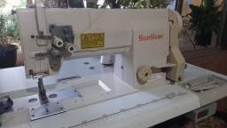 Título do anúncio: Máquina de costura pespontadeira ponto fixo.