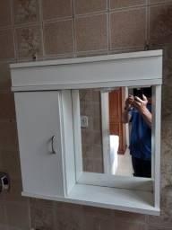Título do anúncio: Vendo Armário Espelheira Para Banheiro.