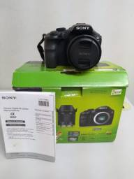 Câmera Sony Alpha 3000 Semi Nova Com Bolsa