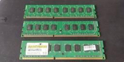 Título do anúncio: Memórias para desktop computador de mesa ddr3 2gb e 4gb