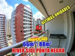 Título do anúncio: Apartamento na Ponta Negra River Side 02 Quartos