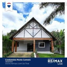Casa com 3 dormitórios para colação por temporada no Cond. Monte Carmelo