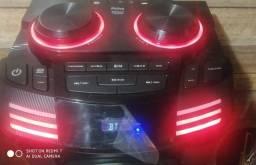 Título do anúncio: 1 Caixa acústica torre 1800W PCX20000 Philco Nova Bluetooth nova