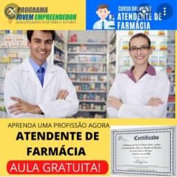 Título do anúncio: Curso de Atendente de Farmácia