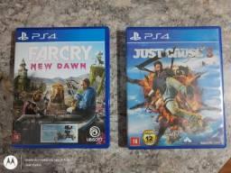 Vendo ou troco jogos de Playstation 4