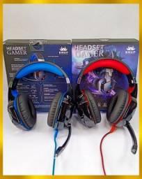 Fone Headset Kanup Gamer original com led