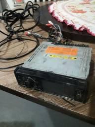 Dvd pioneer 4polegadas+cabos rca
