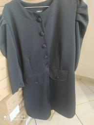Vendo belo vestido com mangas bufantes Tam G pra quem chegar primeiro