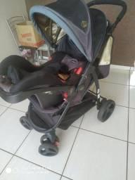 Título do anúncio: Carrinho Cosco e bebê conforto