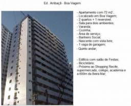 Aluguel Apartamento 3 Quartos, Boa Viagem, Ed. Arribaçã com taxas inclusas