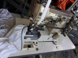 Maquina de costura BT elastiqueira moda praia