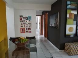 Cond. Clube Natal Brisa com cozinha projetada - 94m² - 3 quartos(1ste) - Andar alto