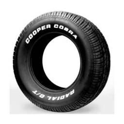 Pneu cooper cobra 235/60/15 letra branca - loja oficial - old garage