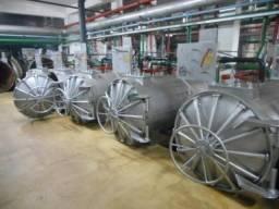 Autoclaves 1 m x 2,5 m e Capacidade de 2800 litros - #1155