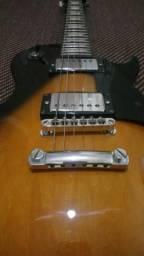 Guitarra Les Paul sx inteira mogno vendo ou troco