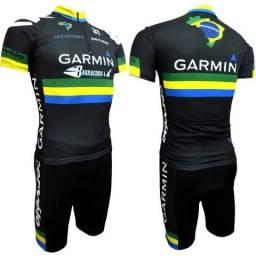 Conjunto ciclismo profissional p ao gg