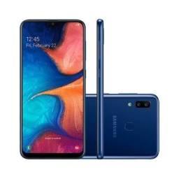 Troco Samsung A20 novo