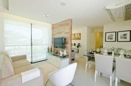 PA - Apartamento na beira mar com 61m², 3 qtos com suíte