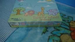 Cobertor infantil não alérgico-90cmx1,10m