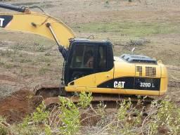 Escavadeira 320 dl ano 2010