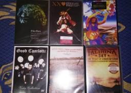 Cds, Dvds, Lps e VHS