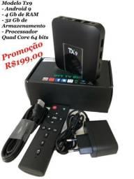 Oportunidade - Android Box Tx9 - Novo