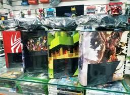 Xbox 360 Travado + controle + jogo de brind - Promoção