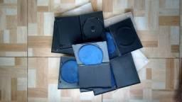 Cada unidade por R$ 0.50 * Estojos usados em plástico com luva e sem luva para DVD's