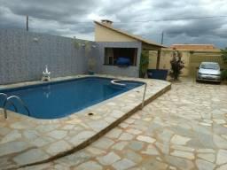 Casa com piscina e churrasqueira-Águas-Lindas de Goiás