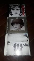 3 CDs U2 (ORIGINAIS)