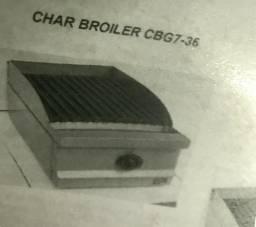 Vendo CHAR BROILER MACOM