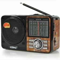 Rádio AM FM cordão modelo antigo :)entrega grátis