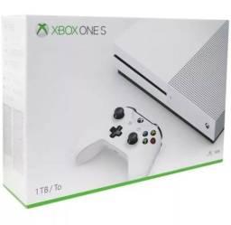 Xbox one s 1tb Novo Lacrado