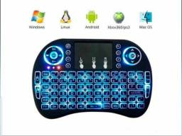 Teclado Sem Fio Para Tv Smart Tv Box Video Game,Pc e Notebook
