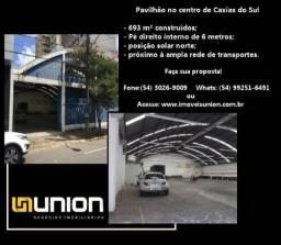 Oferta Imóveis Union! Pavilhão locado, com 693 m² construídos, no centro de Caxias do Sul!