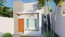 Casa térrea individual no Lagoa Park com 03 quartos sendo 01 suite e área goumert