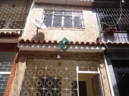 Casa de vila à venda com 2 dormitórios em Cachambi, Rio de janeiro cod:C70283