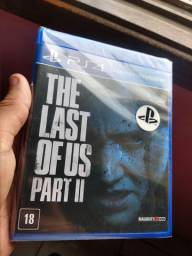 The last of us parte 2 e Ghost of tsushima (ambos lacrados)