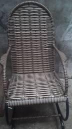 Cadeira de fibra nova