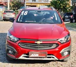 Chevrolet Onix Activ 1.4 2018 Vermelho Manual Flex
