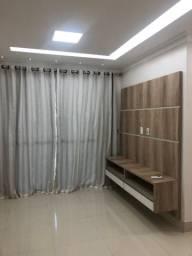 Smart Centro, 2 quartos, sendo 1 suíte, semi mobiliado, climatizado