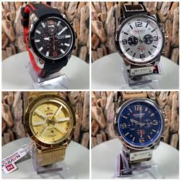 Quer um relógio top ? Nós temos. Só chamar e enviamos todos os modelos disponíveis.