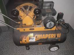Compressor 140 PSI 10/110 Litros Bivolt - CHIAPERINI-10SS-110L<br><br>