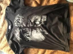 Camisa the walking dead masculina