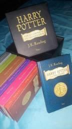 Coleção Todos os 7 Livros de Harry Potter - Edição de Colecionador + Bônus