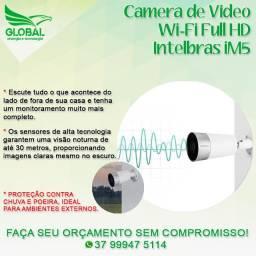 Câmera wi-fi Intelbras IM5