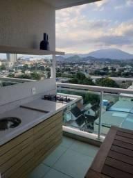 Apartamento sol da manhã -Andar alto - 4 suítes - 2 vagas - Centro - Nova Iguaçu